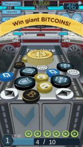 Mobile2 cryptocoin drop screenshot