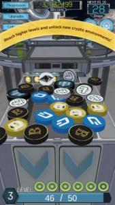 Mobile3 cryptocoin drop screenshot