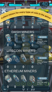 Mobile5 cryptocoin drop screenshot