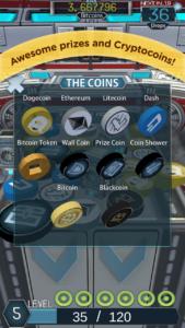 Mobile6 cryptocoin drop screenshot