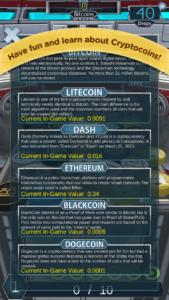 Mobile7 cryptocoin drop screenshot